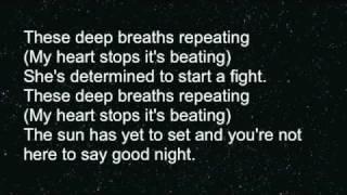 Miserably loving you (lyrics)
