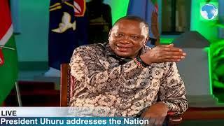 Uhuru defends handshake with Raila