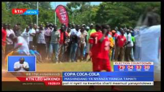Shule ya upili ya wavulana ya Kisumu ndiye mabingwa wa Nyanza kwa Copa Coca Cola
