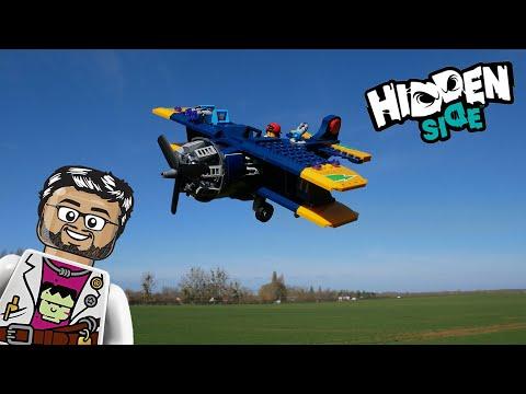 Vidéo LEGO Hidden Side 70429 : L'avion de voltige d'El Fuego