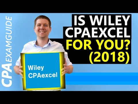 Read First] Wiley CPAexcel Review Course (2019 Update)