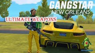 GANGSTAR NEW ORLEANS - MY ULTIMATE WEAPONS (ASSAULT | HEAVY | RIFLES | SMG | SHOTGUN)