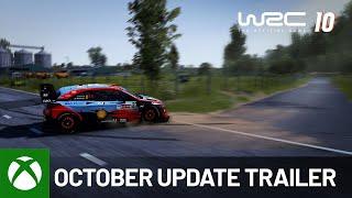 Xbox WRC 10 | October Update Trailer anuncio