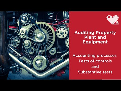 Auditing Property Plant and Equipment
