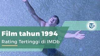 The Shawshank Redemption, Dibintangi oleh Tim Robbins dan Morgan Freeman.