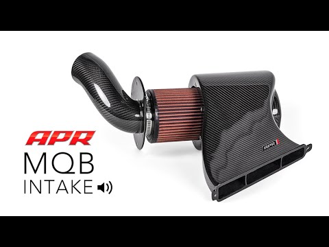 APR Carbon Fiber Intake - Sound Test