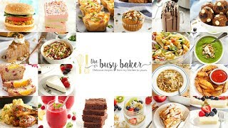 The Busy Baker Recipes - Channel Trailer