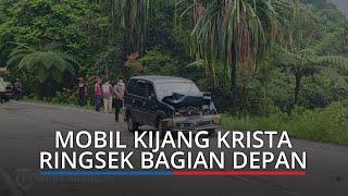 UPDATE Lakalantas di Jalan Padang-Solok: Giliran Mobil Kijang Krista Ringsek, Korban Dibawa ke RS