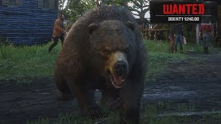 Playing as a Bear in Red Dead Redemption 2