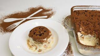 Tiramisu/Yummy biscuit cream pudding/ Fresh cream recipes/innaiku enna samayal