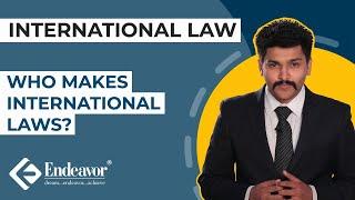 Who makes International Laws? | International Law | Endeavor Careers