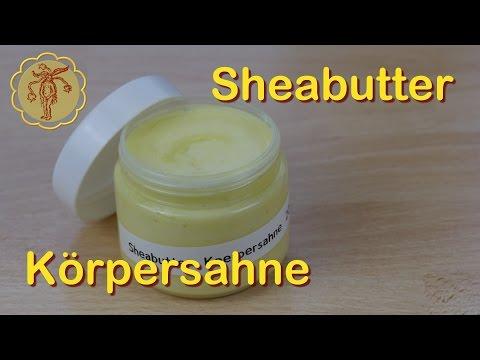 Sheabutter-Körpersahne