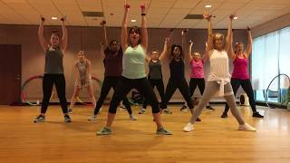 """""""PHYSICAL"""" by Dua Lipa - Dance Fitness Workout with Free Weights Valeo Club"""