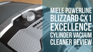 Miele PowerLine Blizzard CX1 Excellence Cylinder Vacuum Cleaner REVIEW | Henry Reviews
