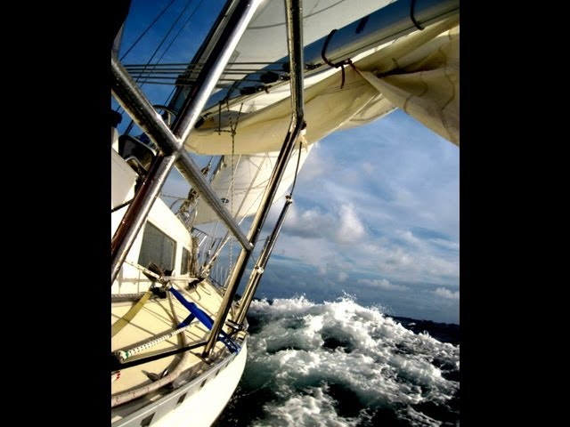 How to Rig a Storm Jib for Heavy Weather Sailing!
