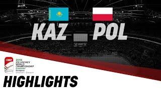 Казахстан - Польша 6:1. Чемпионат Мира 2018 группа А дивизион 1