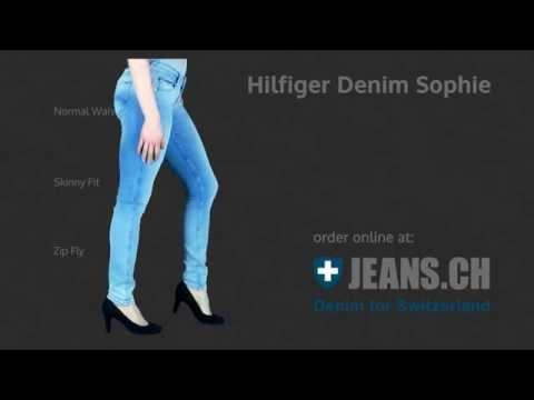 Hilfiger Denim Sophie Skinny Jeans Fit Video von JEANS.CH