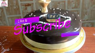 How To Make Communion Cake - Chocolate Flavor With Fondant..Special Cake For Special Occassion