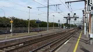 preview picture of video 'Trains at Villeneuve - Saint-Georges 8 August 2012'