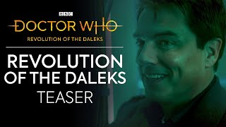 JACK IS BACK! | Revolution of the Daleks Teaser | Doctor Who