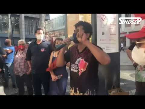 Maciel Nascimento convoca a todos para Aula Pública do Sindsep