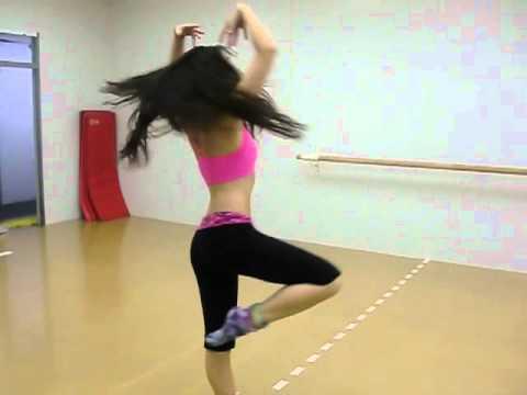 Nina dancing to