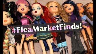 Flea Market Finds! Bratzillaz Back To Magic Dolls, Bratz Midnight Dance, Fashion Pixies & More!