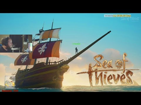 Sea of Thieves Walkthrough - My First Pirate Ship Battle by