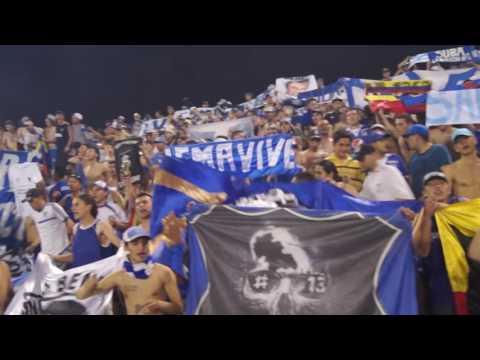 """""""Cortuluá 2 VS 3 Millonarios 2016"""" Barra: Comandos Azules • Club: Millonarios • País: Colombia"""