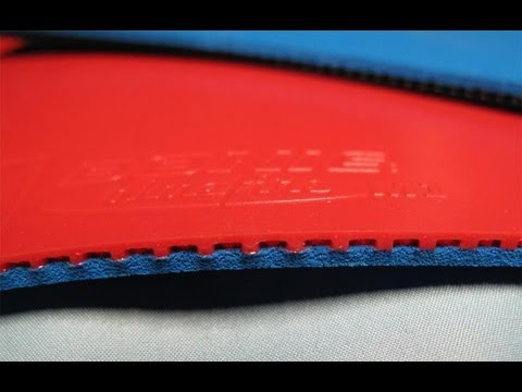 Table tennis rubber review Donic Blue Fire M2 vs Tenergy