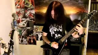 "Arch Enemy   ""Skeleton Dance"" Guitar cover"