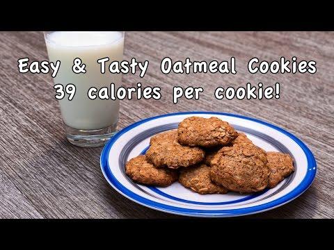 Easy & Tasty Homemade Oatmeal Cookie - Dessert Recipe # 16