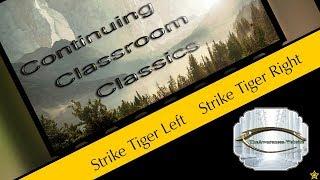 # 46, 47 Strike Tiger Left Strike Tiger Right