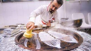 Street Food in Iran!! UNSEEN IRANIAN FOOD + Market Tour in Rasht, Iran!