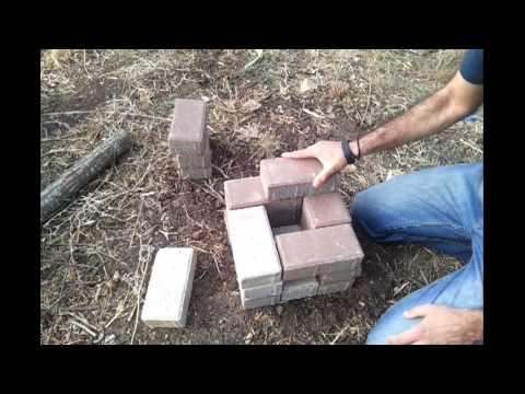 בניית כירת אבנים בשטח