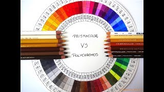 Prismacolor Vs Faber-Castell Polychromos  | Colors Matching