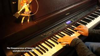 The Disappearance of Hatsune Miku -DEAD END- (Piano)