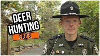 Deer Hunting FAQs