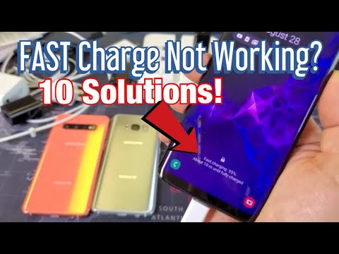 Galaxy S8/S9/S10: FAST Cable Charging Not Working? FIXED (10 Solutions)