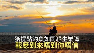 獲提點釣魚如同惡業有業障,報應到來唔到你唔信!(魅影空間 D100)