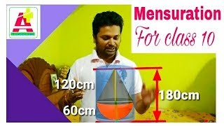 Mensuration -10th class- Mathematics // by A+ Tutorial