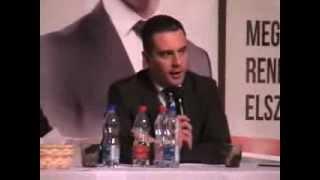 preview picture of video 'Jobbik lakossági fórum Dombóvár 2014'