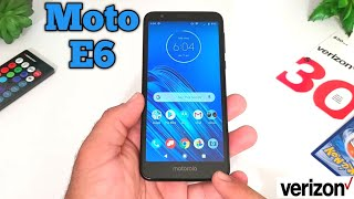Moto E6 Unboxing and Complete Walkthrough