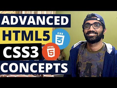 Advanced HTML/CSS Concepts Crash Course