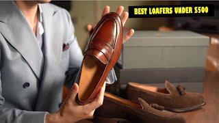 Best Loafers For Men Under $500 (2020) | Carlos Santos, Crockett & Jones Penny/Tassel Loafers