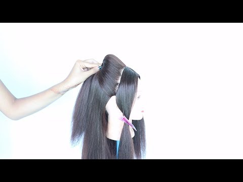 very easy everyday puff hairstyle || easy hairstyles || simple hairstyle || puff hairstyle