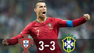 Portugal Vs Brazil 3-3 - All Goals & Extended Highlights - Last Matches HD