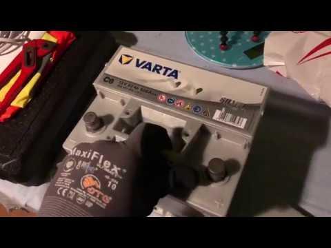 Varta 5524010523162 Autobatterien Silver Dynamic C6 12 V 52 mAh 520 A Unboxing und Anleitung