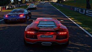 Gran Turismo Sport - Gameplay Lamborghini Aventador LP700-4 @ Mount Panorama [4K 60FPS]