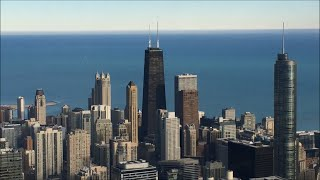103rd Floor Skydeck Views and The Ledge - The Willis (Sears) Tower – Chicago Illinois